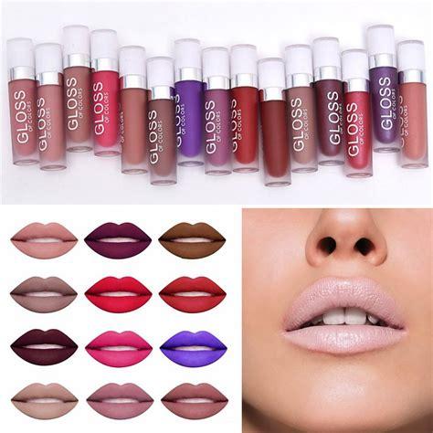 The Matte Lip Waterproff Lasting By 15pc makeup matte lip liquid lasting waterproof lipstick pencil lip gloss ebay