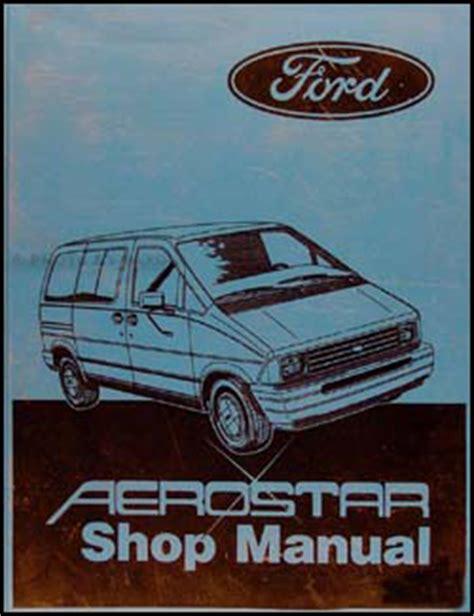 free auto repair manuals 1987 ford aerostar head up display 1987 ford aerostar factory foldout wiring diagram 87
