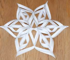 3d snowflakes tutorial template pdf for by