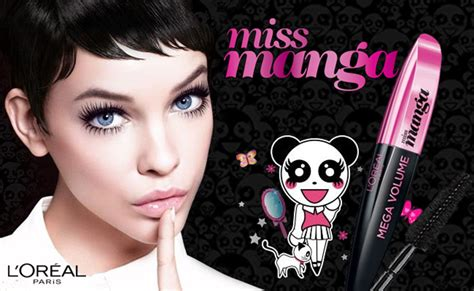 miss mascara like japanese characters l oreal miss