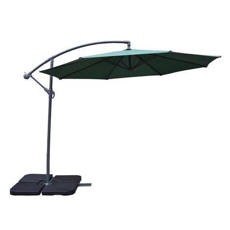 10 Ft Cantilever Patio Umbrella In Green Hd4110 Gn The Patio Umbrellas Cantilever