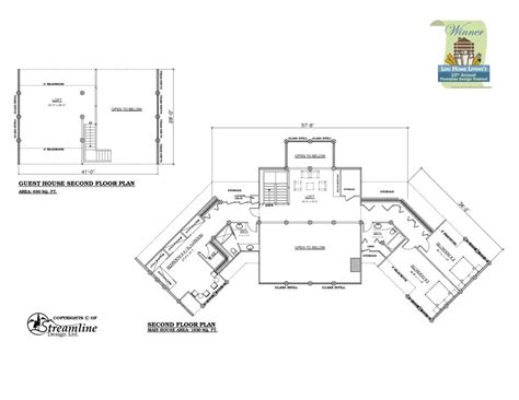 guest house blueprints house plans with guest house