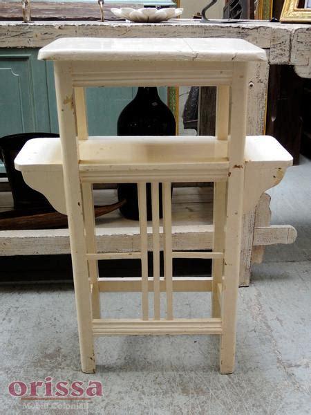 scaffale portavasi mobile porta vasi i legno bianco u011 orissa