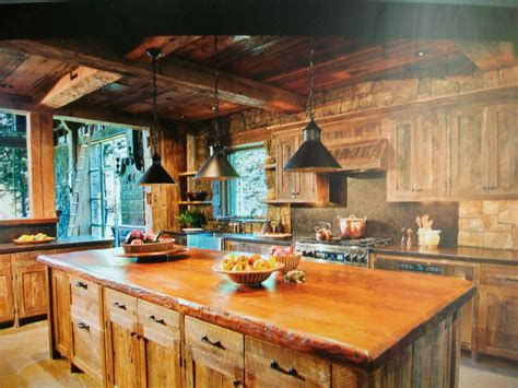 lodge kitchen cabin kitchen cabin ideas pinterest