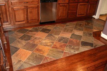 tile and wood flooring combination ideas   Google Search