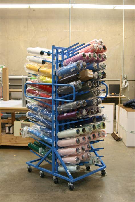 vinyl roll storage rack uscutter rolling vinyl storage rack 168 roll capacity