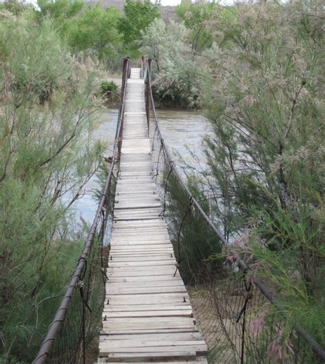 swinging bridge utah unusual routing with latest garmin map update adventure