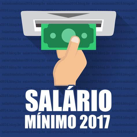 salario frentista parana 2016 2017 sal 195 rio m 195 nimo 2017 qual 195 169 o valor confira a tabela