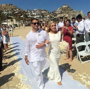 why second wedding for brooke brinson kim richards daughter brooke brinson escorted down the
