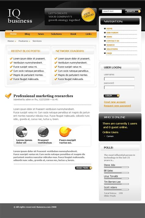 consulting drupal template 21130 by wt drupal templates