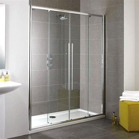 Showerlux Shower Doors Showerlux Linea Touch Slider Shower Door 1700mm