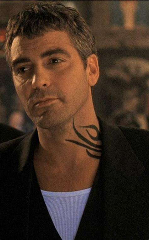 george clooney tattoo george clooney in quot from dusk till quot 1996 this is