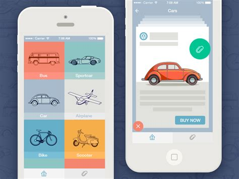 design app 7 up to date mobile app design trends 2016