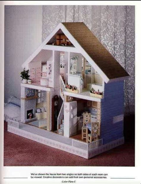 fashion dollhouse in plastic canvas pin by h on fashion doll house plastic canvas