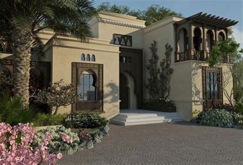 home design arabic style home exterior
