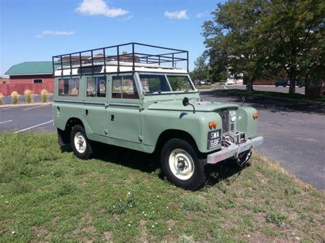safari land rover for sale 1966 land rover series 2a 109 station wagon safari