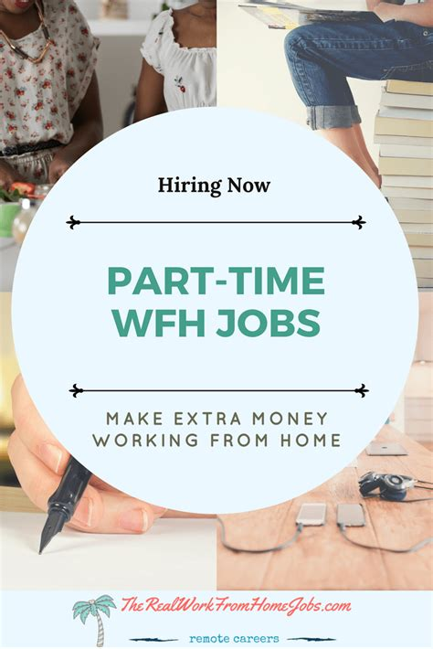 more part time work from home companies hiring now