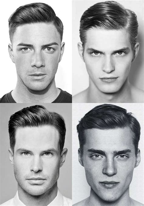 hair parting comes forward the side part haircut a classic style for gentlemen