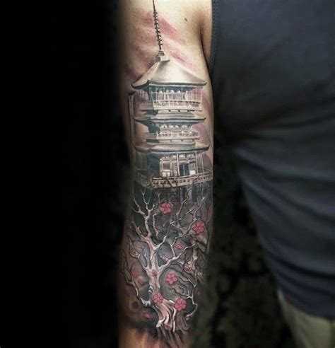 temple tattoo designs 50 japanese temple designs for buddhist ink