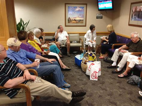 in the waiting room some physicians cutting back on patient time