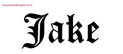 tattoo name jake 5 best images of jake printable letter printable names