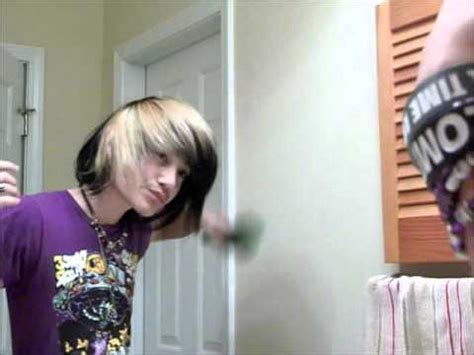 emo haircuts not teased how to tease quot scene hair quot for guys youtube