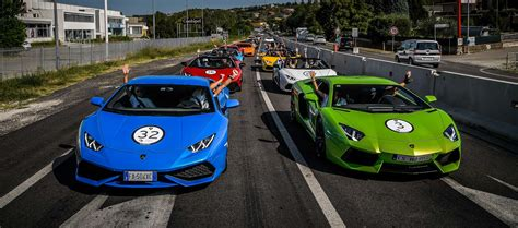 Are Lamborghinis Italian 3 Days 30 Lamborghinis And The Of Italy The
