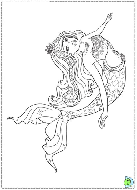 mermaid pictures to color in a mermaid tale coloring page dinokids org