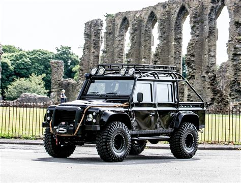 land rover spectre ex james bond spectre land rover defender svx