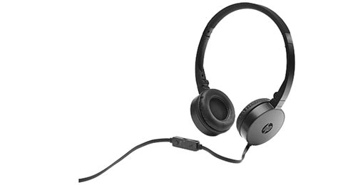 Headset Hp H2800 hp h2800 on ear wired headset black xcite alghanim electronics best shopping