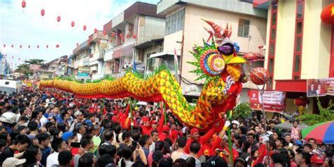 Soun Cap Naga budaya dan wisata imlek di pontianak tanpa pawai naga rri portal berita radio berjaringan