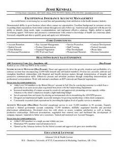 Resume Sample Account Manager by Example Customer Relations Manager Resume Free Sample