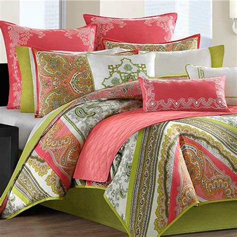 Gramercy Paisley Twin Xl Cotton Comforter Set Duvet Style Paisley Bedding Sets