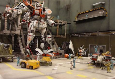 Diorama Gundam Gunpla gundam diorama visuals