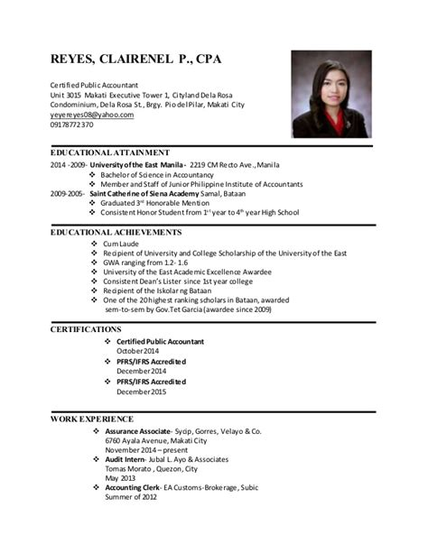 resume format for government philippines sle cpa resume philippines krida info