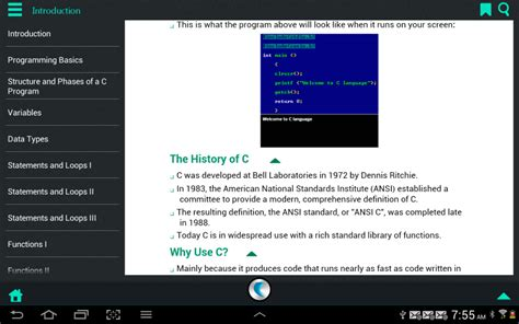 software for android c language software for android