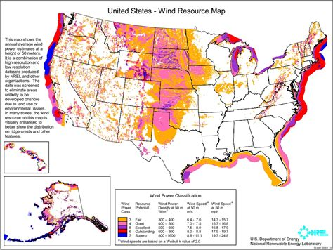 america resources map new nrel data suggests wind could replace coal as nation s