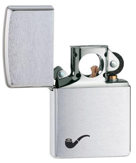 zippo pipe lighter zippo chrome pipe lighter personalized with free engraving