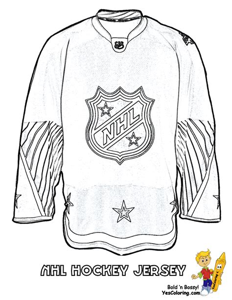 hat trick hockey coloring sheets free hockey players