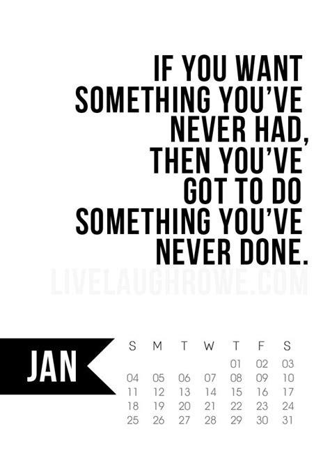 printable calendar quotes free 5x7 printable calendar for january 2015 with