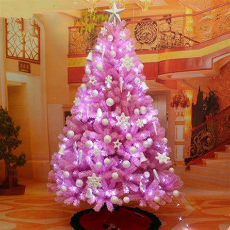 new christmas tree 1 8 m 180cm pink christmas tree