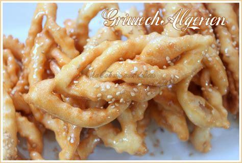 cuisine alg駻ienne gateaux griwech gateau algerien la cuisine de djouza