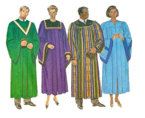 sewing pattern zip front robe butterick 5626 unisex zip front robe and collar pattern