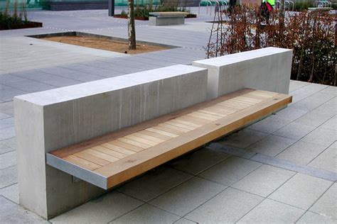 wall seating bench white city media centre planters and seating