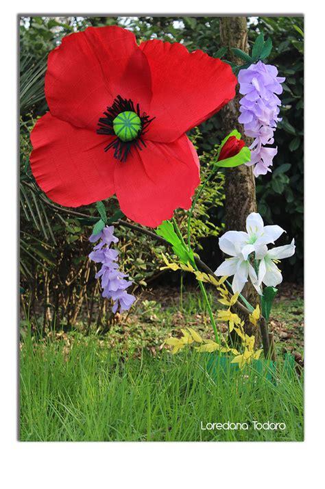 fiori di carta crespa giganti oltre 1000 idee su fiori di carta giganti su