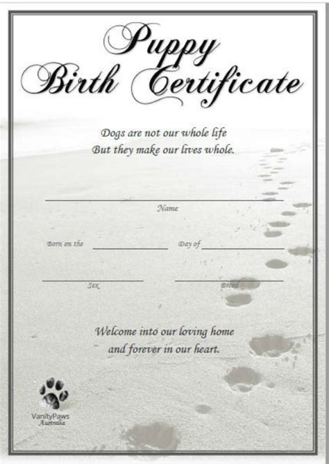 12 Pet Birth Certificate Designs Templates Pdf Psd Ai Free Premium Templates Birth Certificate Template