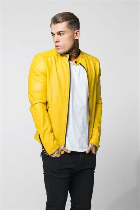 Errol Comes In Three Colours All Of Them Green by Leather Jacket Errol In Yellow For 1 And It Was All