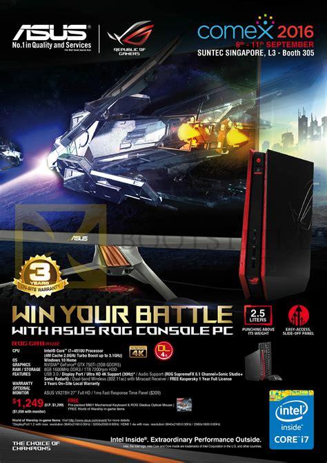 pc themes singapore price list asus desktop pc console rog gr8 r123z comex 2016 price