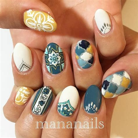 moroccan pattern nails 32488 best girls world images on pinterest nail ideas