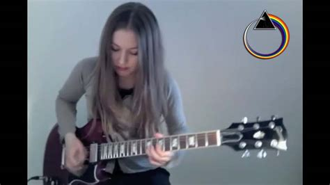 comfortably numb solo tone this girl plays comfortably numb on guitar and manages